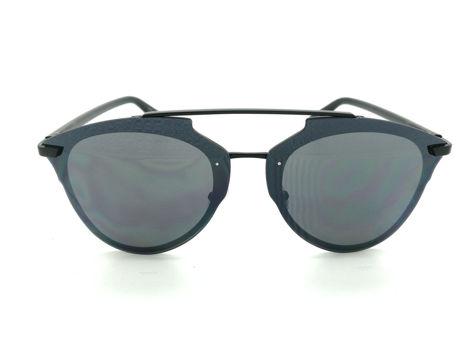 ASPEZO Okulary przeciwsłoneczne damskie czarne MANILA Etui skórzane, etui miękkie oraz ściereczka z mikrofibry w zestawie                              zdj.                              1