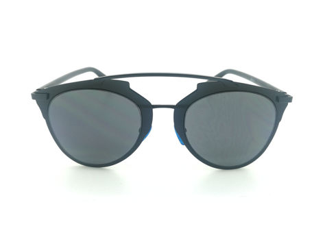 ASPEZO Okulary przeciwsłoneczne damskie czarne MONTREAL. Etui skórzane, etui miękkie oraz ściereczka z mikrofibry w zestawie                              zdj.                              1