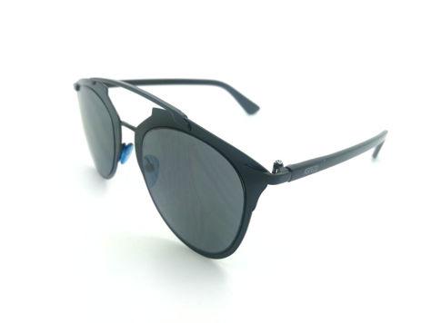 ASPEZO Okulary przeciwsłoneczne damskie czarne MONTREAL. Etui skórzane, etui miękkie oraz ściereczka z mikrofibry w zestawie                              zdj.                              2