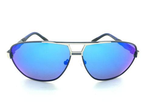 ASPEZO Okulary przeciwsłoneczne unisex POLARYZACYJNE niebieskie FLORIDA Etui skórzane, etui miękkie oraz ściereczka z mikrofibry w zestawie                              zdj.                              1
