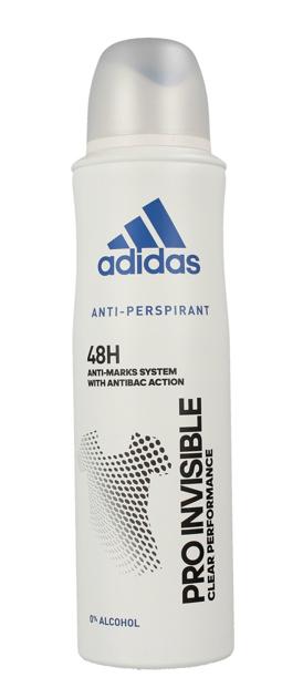"Adidas Pro Invisible 48h Dezodorant spray dla kobiet 150ml"""