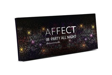 Affect Paleta cieni prasowanych Party All Night 18 g                              zdj.                              2