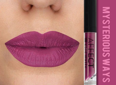 Affect Pomadka w płynie Liquid Lipstick Soft Matte Mysterious Ways 5 ml                                  zdj.                                  1