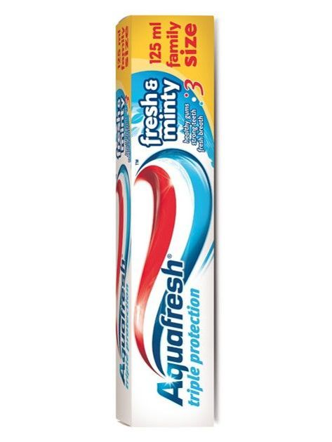 Aquafresh Pasta do zębów Triple Protection Fresh & Minty 125 ml