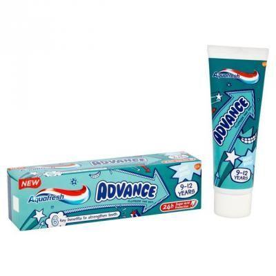 Aquafresh Pasta do zębów dla dzieci Advance 9-12 lat  75 ml                              zdj.                              2