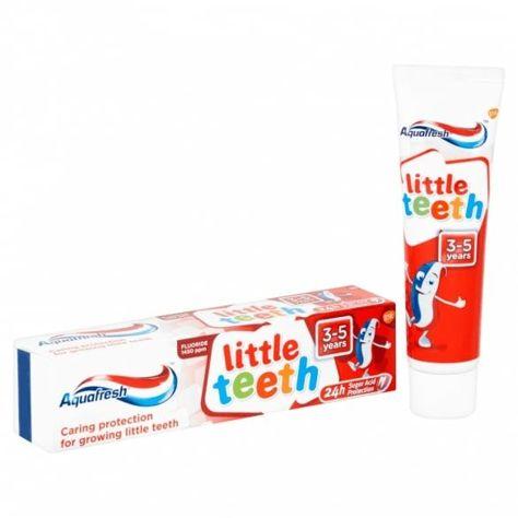 Aquafresh Pasta do zębów dla dzieci Little Teeth 3-5 lat  50 ml                              zdj.                              2