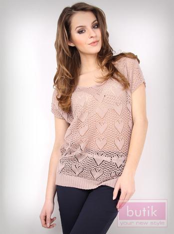 Ażurowy sweter                                  zdj.                                  3