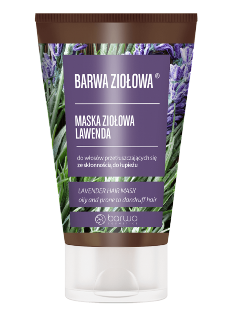 BARWA Ziołowa Maska do włosów Lawenda - włosy przetłuszczające się i z łupieżem 120 ml