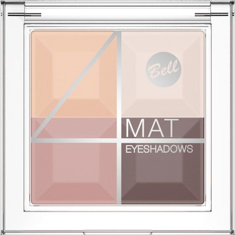 BELL 4 Mat Eyeshadows cień 01                              zdj.                              1