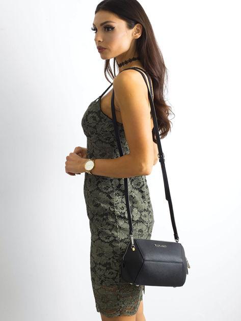 BY O LA LA Khaki sukienka koronkowa                              zdj.                              6