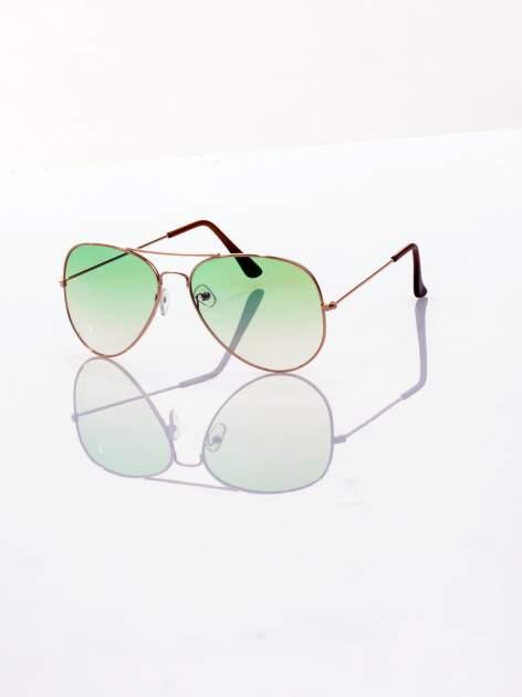 Bardzo twarzowe AVIATORY okulary przeciwsłoneczne pilotki