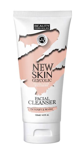 """Beauty Formulas New Skin Glycolic Mleczko do demakijażu z kwasem glikolowym 150ml"""""""