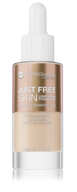 """Bell Hypoallergenic Podkład Just Free Skin Light Foundation nr 03 Sunny  24g"""""""
