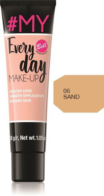 Bell #My Everyday Make-Up Podkład wyrównujący koloryt nr 06 Sand 30g