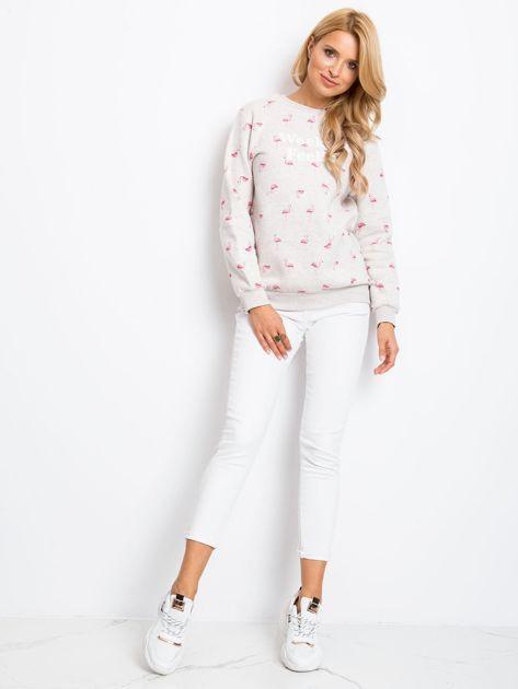 Beżowa bluza Flamingoo                              zdj.                              4