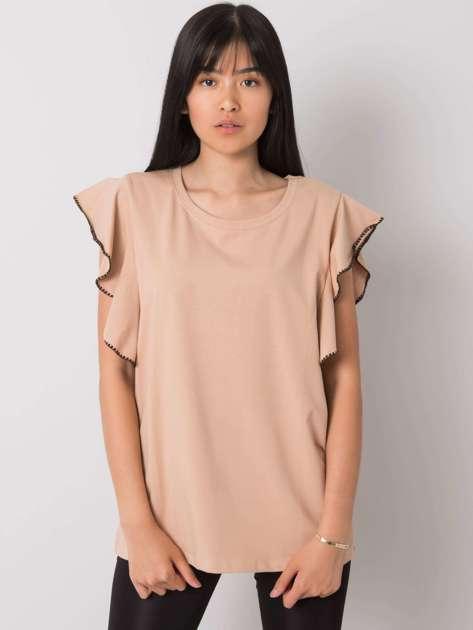 Beżowa bluzka Vanesia
