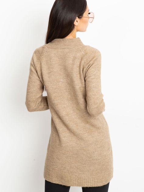 Beżowa sukienka Harmony                              zdj.                              2