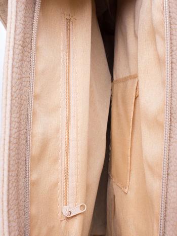 Beżowa torba shopperka z odczepianym paskiem                                   zdj.                                  4