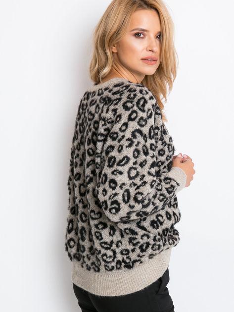 Beżowy sweter Corsica                              zdj.                              2