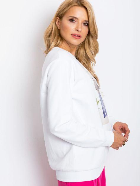 Biała bluza Becky                              zdj.                              3