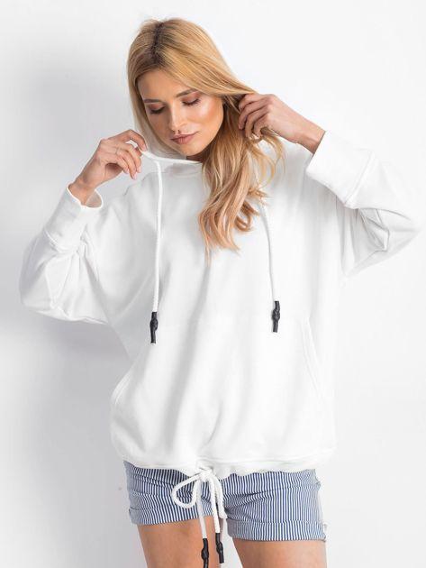 Biała bluza Replicating                              zdj.                              5