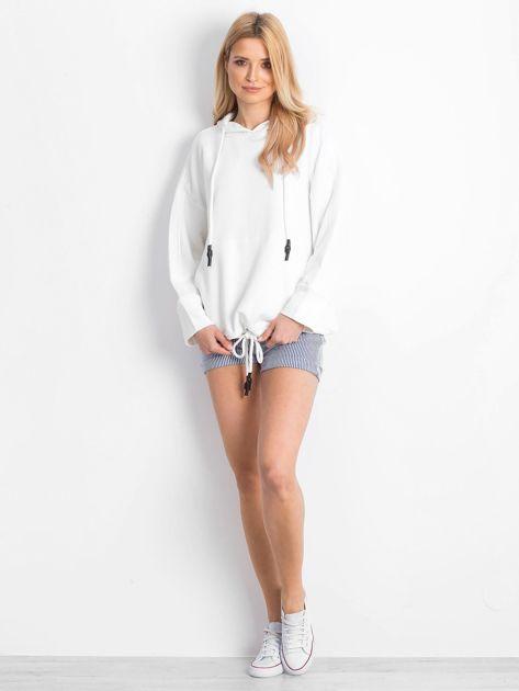 Biała bluza Replicating                              zdj.                              4