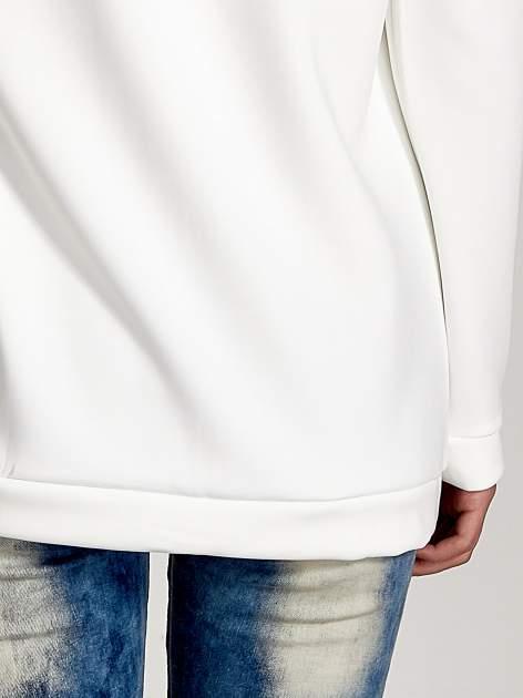 Biała bluza z nadrukiem NEW YORK                                  zdj.                                  5