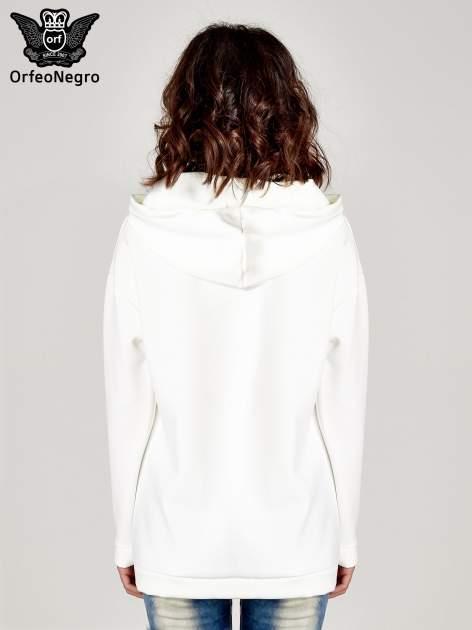 Biała bluza z nadrukiem NEW YORK                                  zdj.                                  4