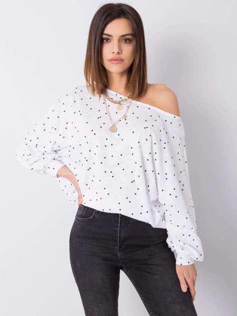 Biała bluzka w groszki Mabel RUE PARIS