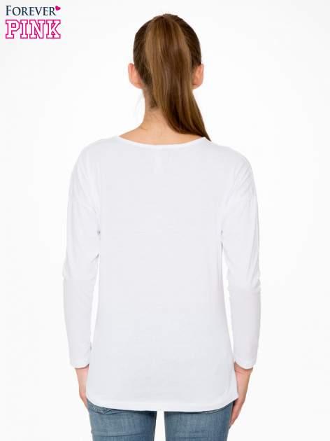 Biała bluzka z nadrukiem Marylin Monroe                                  zdj.                                  4