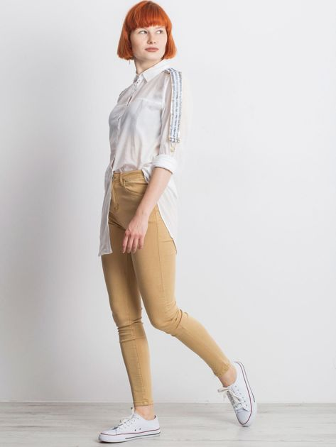 Biała koszula Secondly                              zdj.                              4