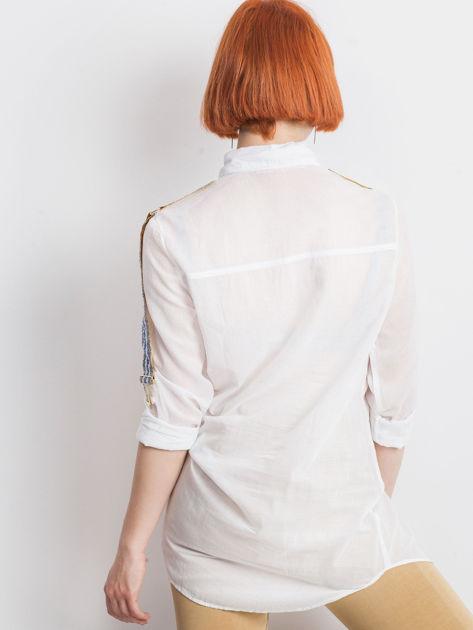 Biała koszula Secondly                              zdj.                              2