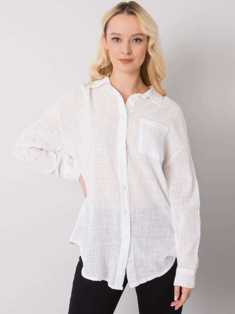 Biała koszula bawełniana Etta OCH BELLA