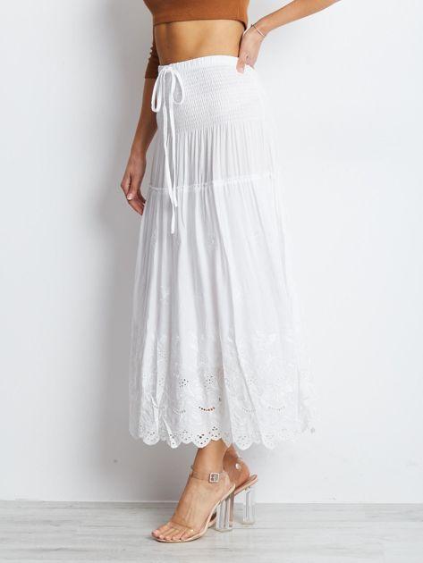 Biała spódnica Enact                              zdj.                              3