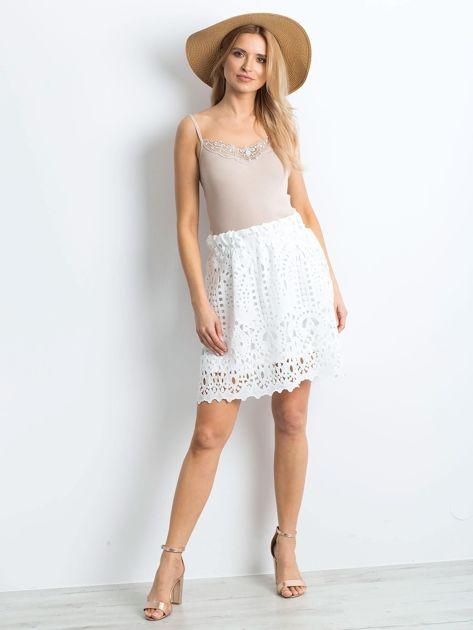 Biała spódnica Princess                              zdj.                              4