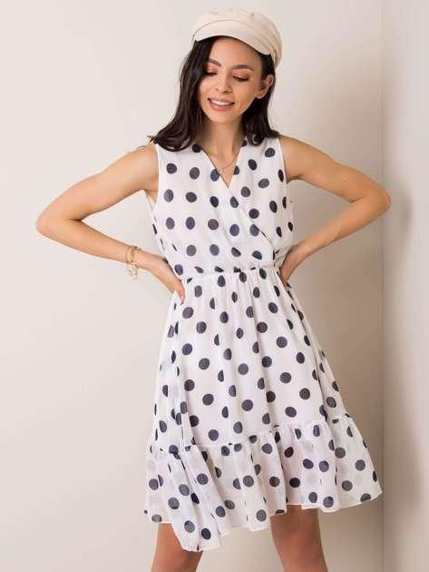 Biała sukienka Alisa RUE PARIS