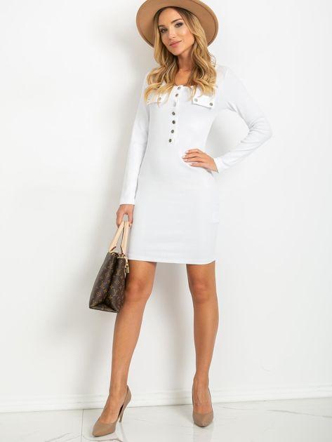 Biała sukienka Juliet                              zdj.                              4