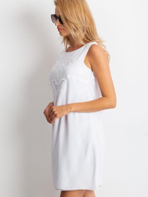 Biała sukienka Secret                              zdj.                              3
