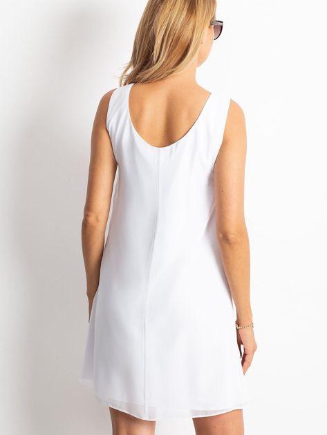 Biała sukienka Secret                              zdj.                              2