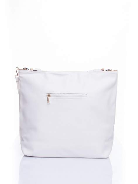 Biała torba damska hobo                                  zdj.                                  3