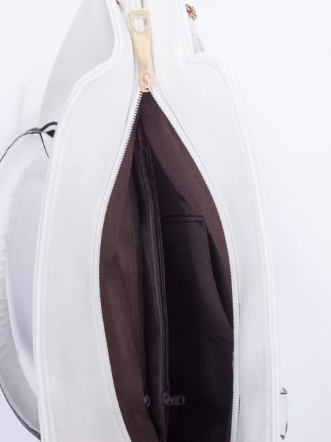 Biała torba shopper bag                                  zdj.                                  5