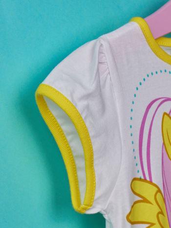 Biała tunika dla dziewczynki MY LITTLE PONY z kokardką                                  zdj.                                  7