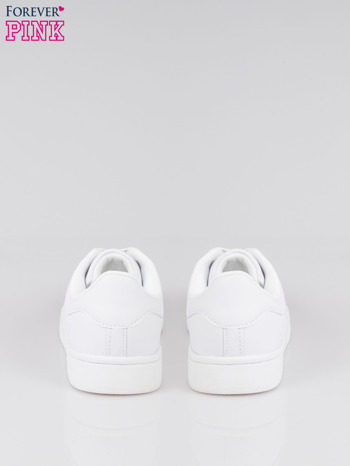 Białe buty sportowe material Enigmatic z metalicznym czubkiem                                  zdj.                                  3