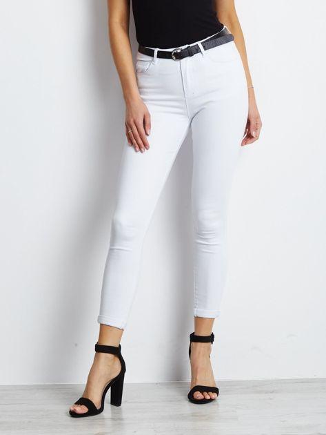 Białe jeansy Snowflake                              zdj.                              1