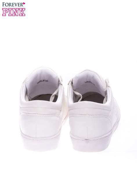 Białe klasyczne buty sportowe Showtime                                  zdj.                                  3
