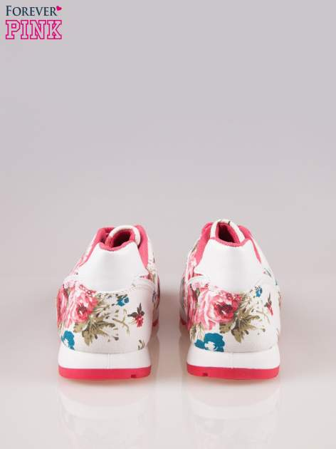 Białe kwiatowe buty sportowe Floral Fresh                                  zdj.                                  3