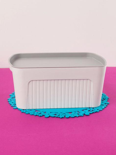 Białe pudełko z pokrywką                              zdj.                              2