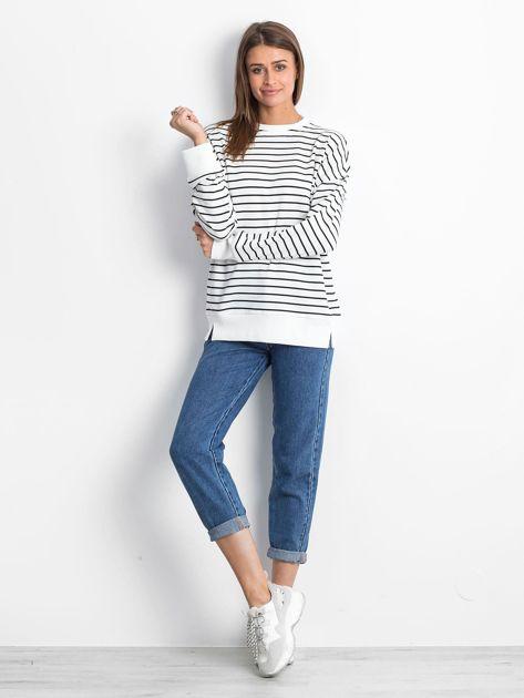 Biało-czarna bluza Continuously                              zdj.                              4