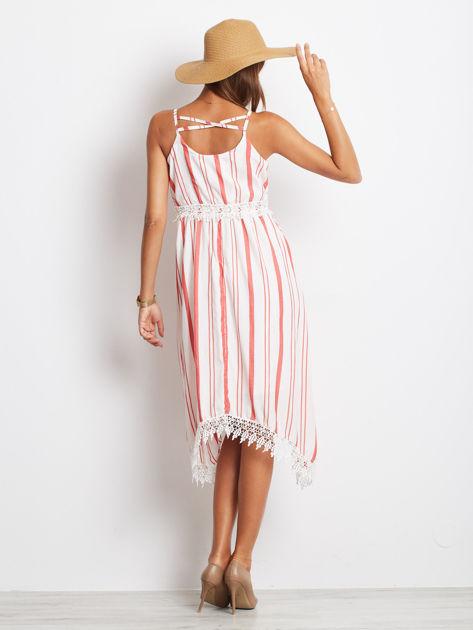 Biało-czerwona sukienka Indepedence                              zdj.                              2