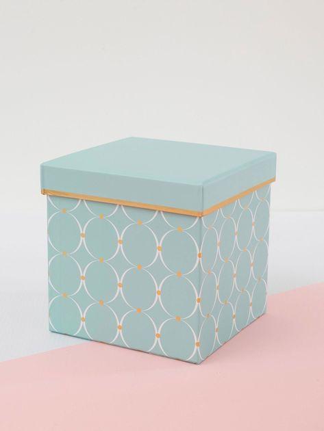 Biało-miętowe pudełka do przechowywania 3w1                              zdj.                              5